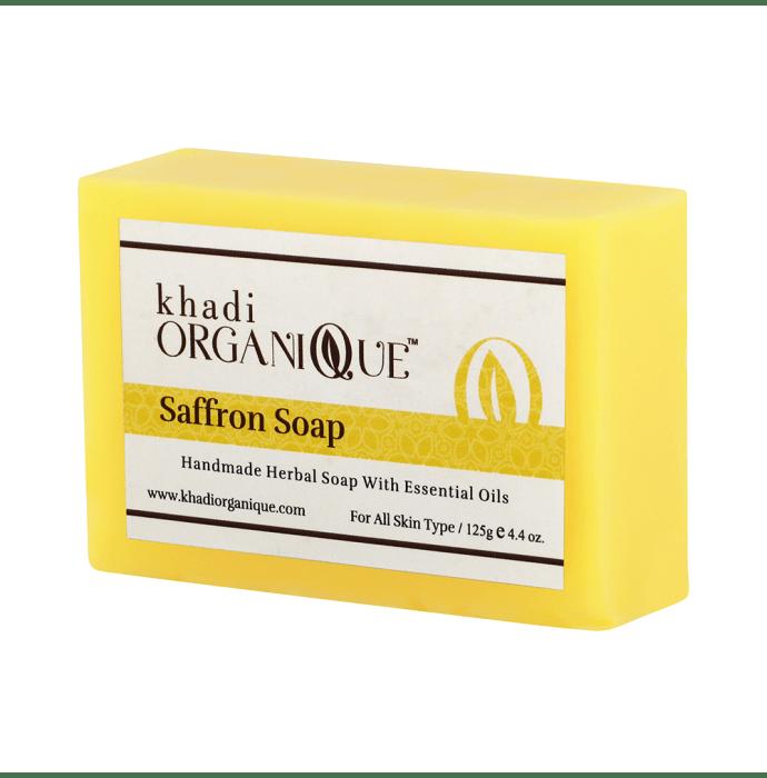 Khadi Organique Soap Saffron Pack of 2