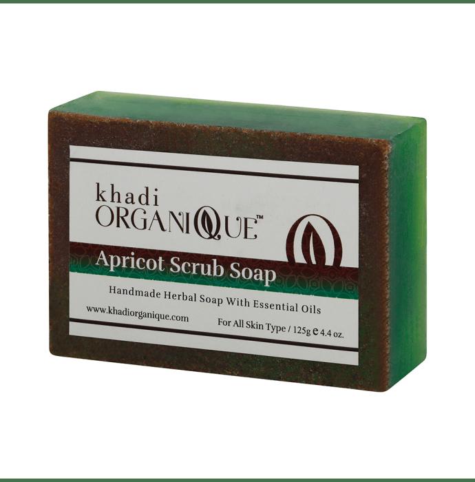 Khadi Organique Soap Apricot Scrub