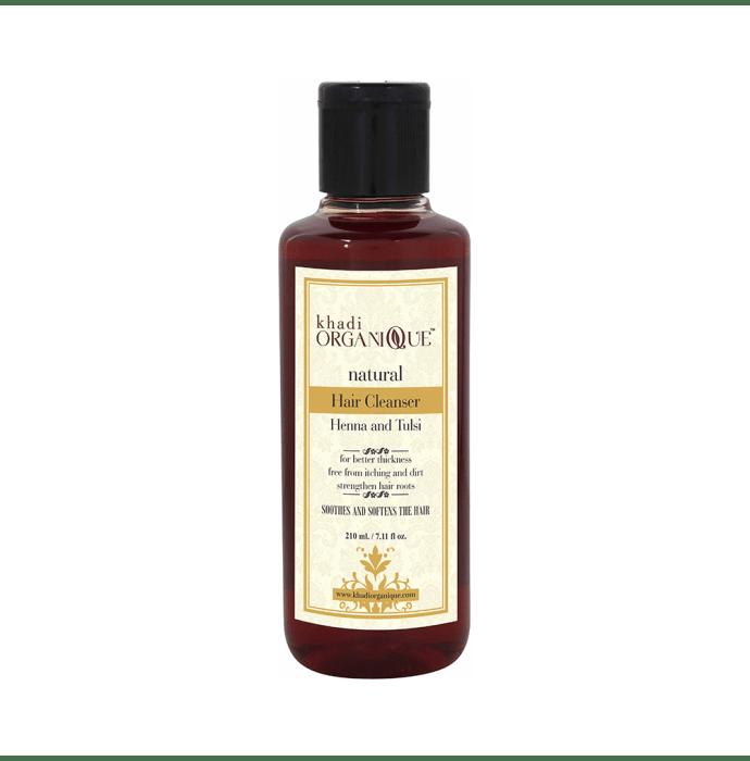 Khadi Organique Natural Shampoo Henna and Tulsi