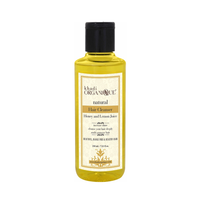 Khadi Organique Natural Shampoo Honey and Lemon Juice