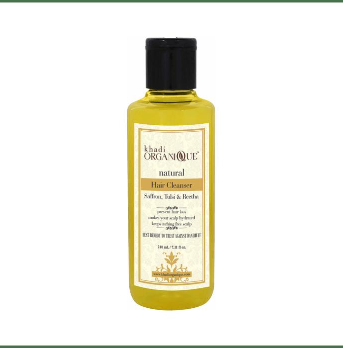 Khadi Organique Natural Shampoo Saffron Tulsi and Reetha