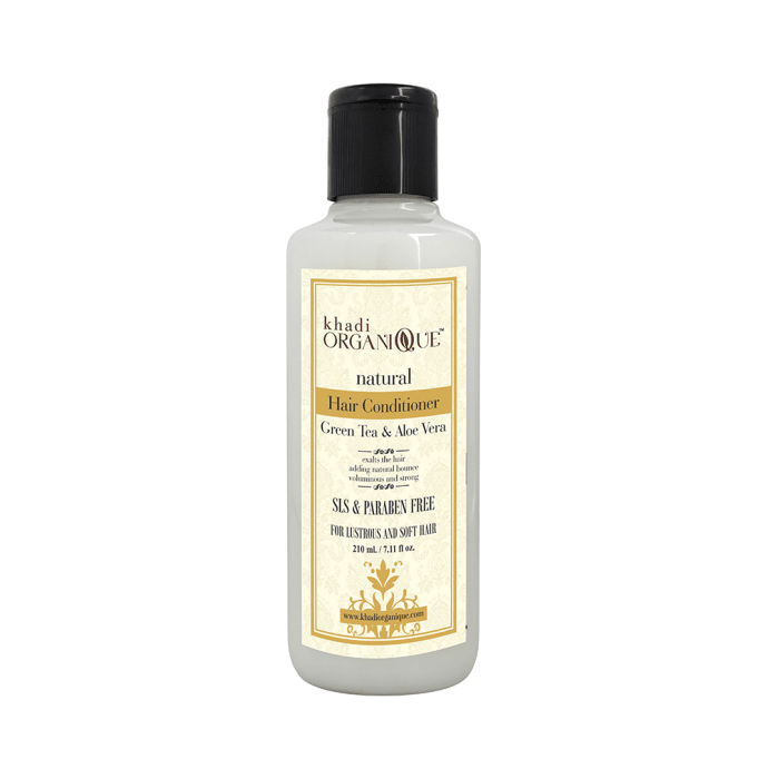 Khadi Organique Natural Hair Conditioner Green Tea and Aloevera SLS Paraben Free