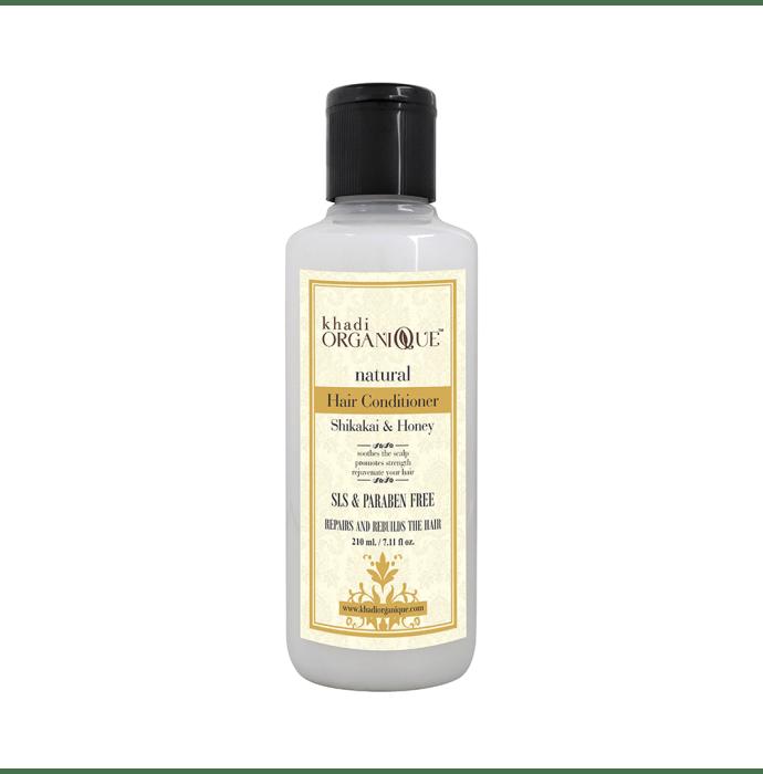 Khadi Organique Natural Hair Conditioner Shikakai and Honey SLS Paraben Free