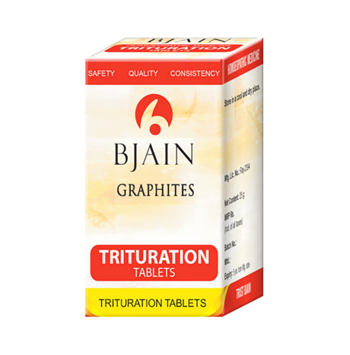 Bjain Graphites Trituration Tablet 6X