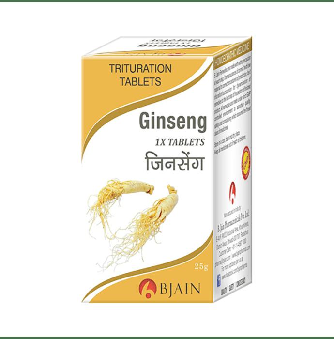 Bjain Ginseng Trituration Tablet 1X