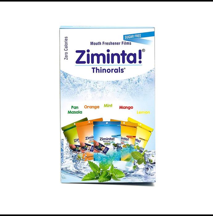 Ziminta Mouth Freshener Assorted