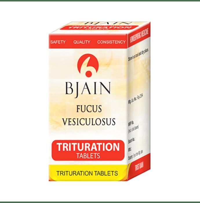Bjain Fucus Vesiculosus Trituration Tablet 3X