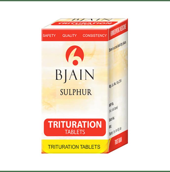 Bjain Sulphur Trituration Tablet 3X
