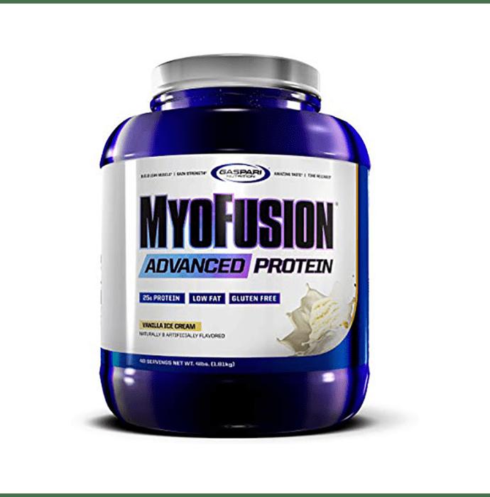 Gaspari Nutrition Myofusion Advanced Protein Vanilla Icecream