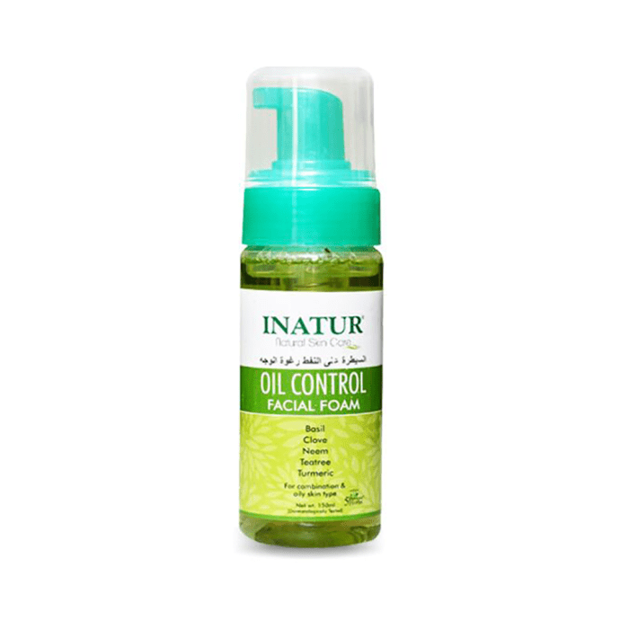 Inatur Facial Foam Oil Control