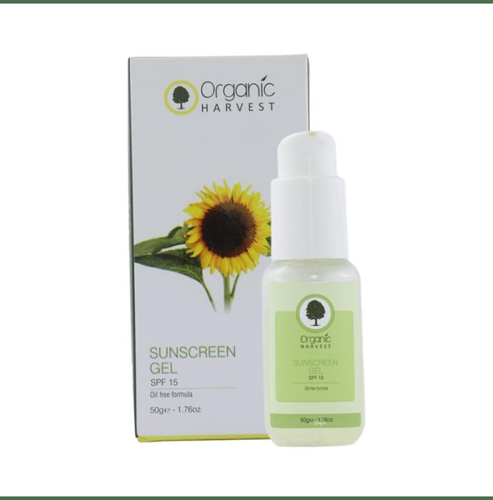 Organic Harvest Sunscreen Gel SPF 15
