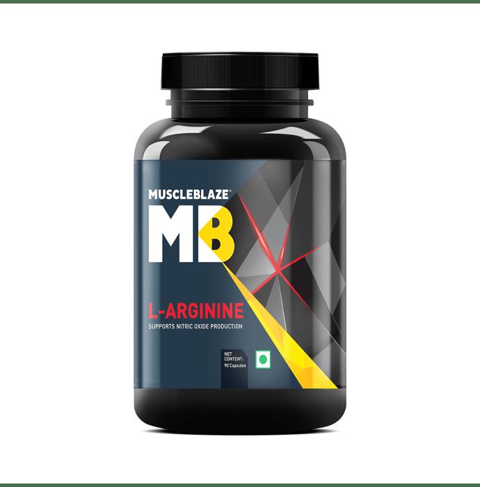 MuscleBlaze L-Arginine Capsule
