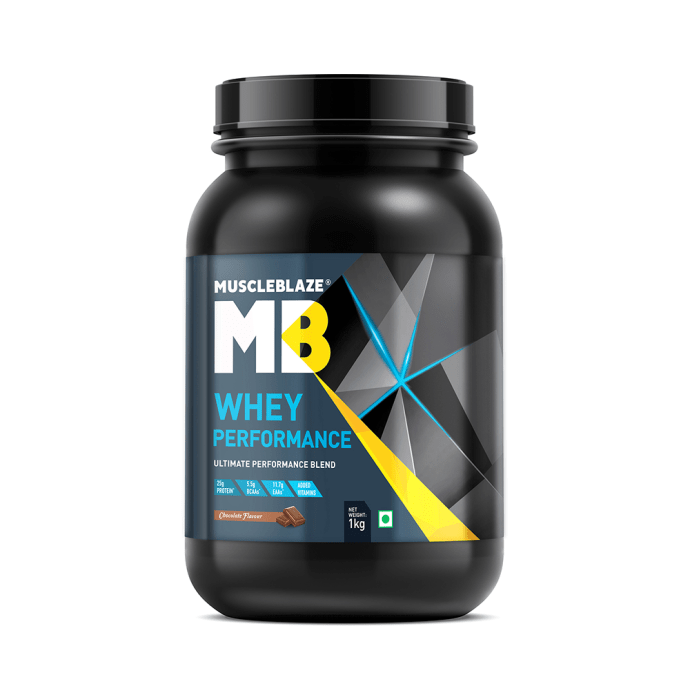 MuscleBlaze Whey Performance Powder Chocolate