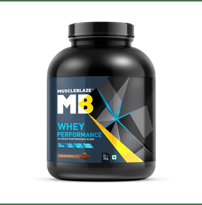 MuscleBlaze Whey Performance Powder Chocolate