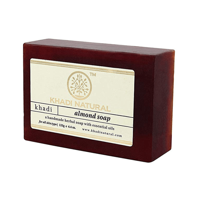 Khadi Naturals Ayurvedic Almond Soap