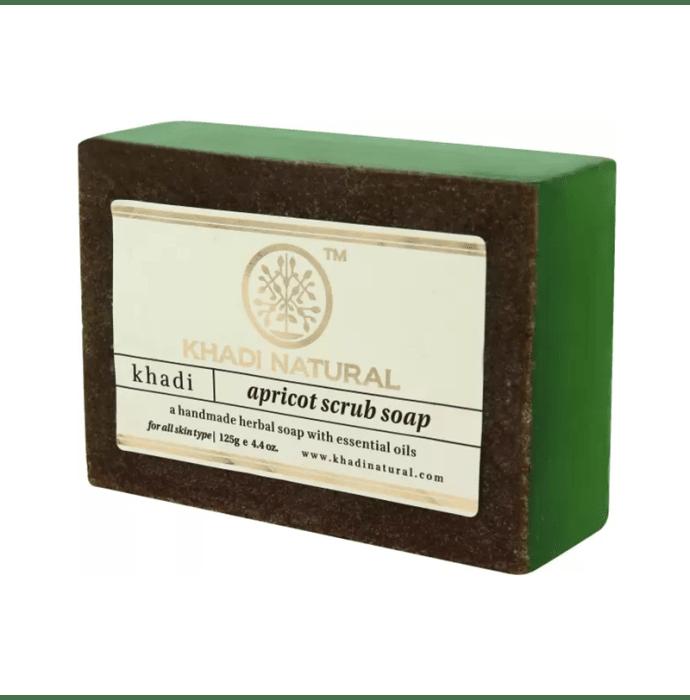 Khadi Naturals Ayurvedic Apricot Scrub Soap