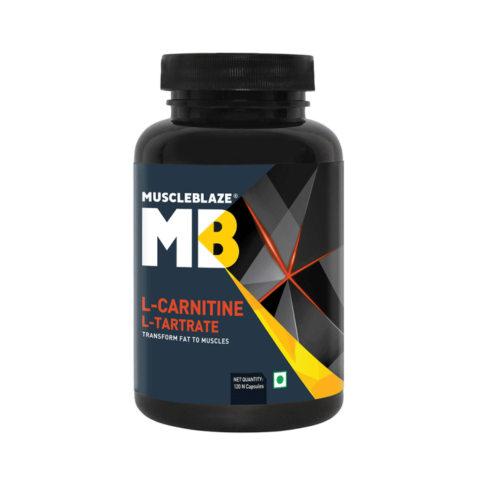 MuscleBlaze L-Carnitine L-Tartrate Capsule