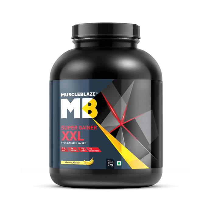 MuscleBlaze Super Gainer XXL Banana