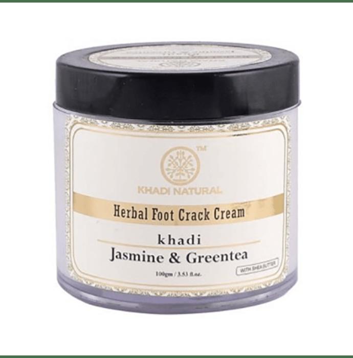 Khadi Naturals Ayurvedic Jasmine & Green Tea Foot Crack Cream