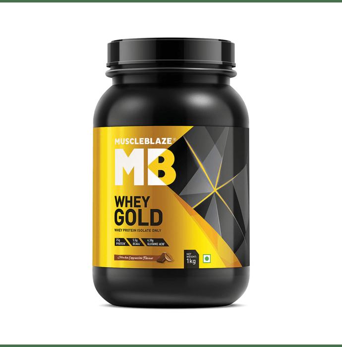 MuscleBlaze Whey Gold Mocha Cappuccino