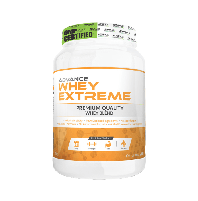 Advance Nutratech Whey Extreme Protein Powder Coffee Mocha