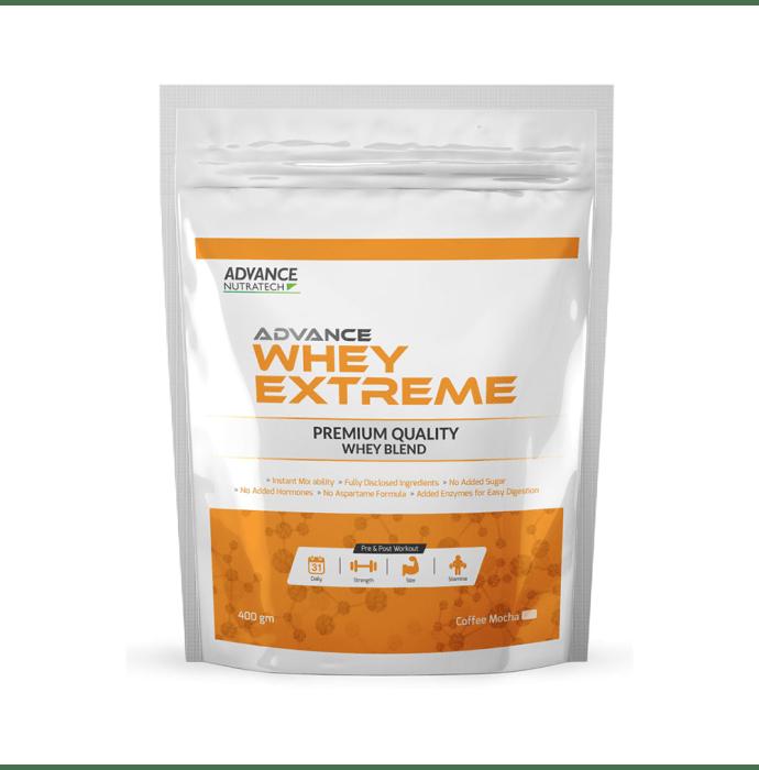 Advance Nutratech Whey Extreme Protein Powder Coffee Mocha
