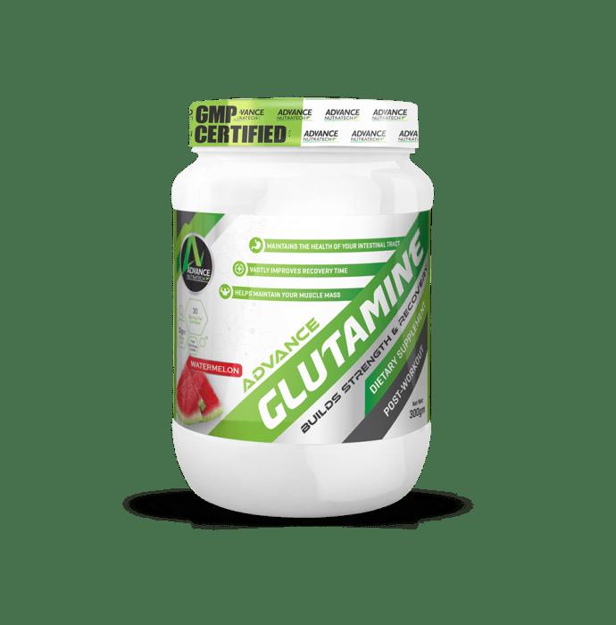 Advance Nutratech Glutamine Supplement Powder Watermelon