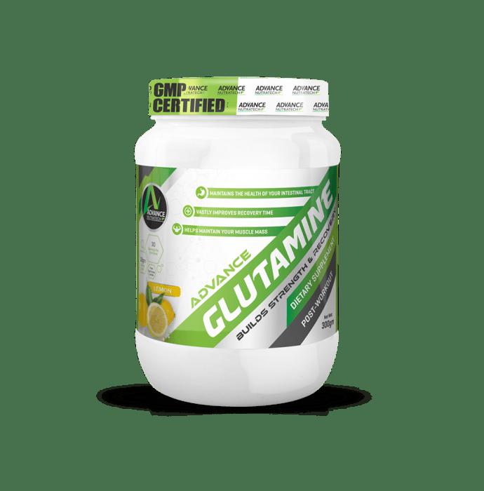 Advance Nutratech Glutamine Supplement Powder Lemon