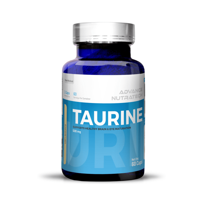 Advance Nutratech Taurine Capsule Unflavoured