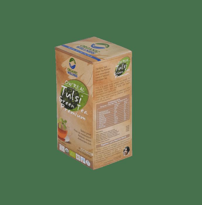 Organic Wellness OW'REAL Tulsi Infusion  Tea Bag Green Tea Premium