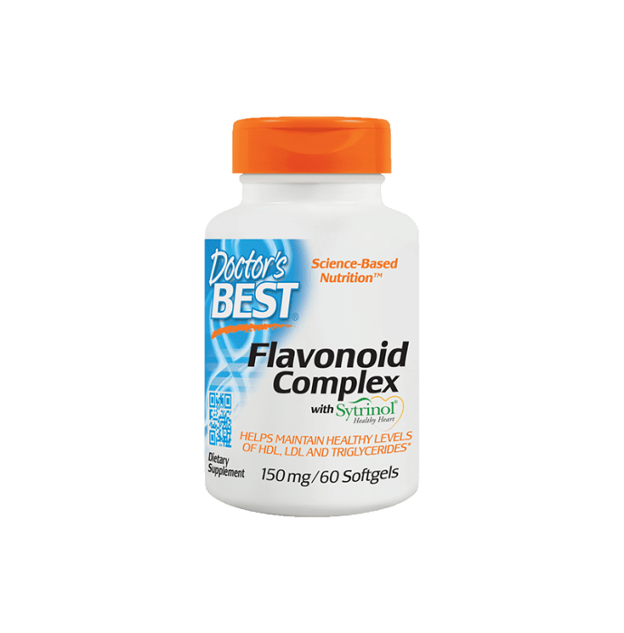 Doctor's Best Flavonoid Complex with Sytrinol Softgels