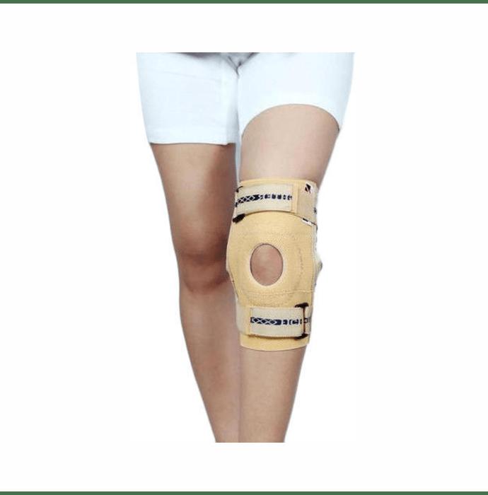 Dr. Expert Elastic Knee Support XXL Skin Colour