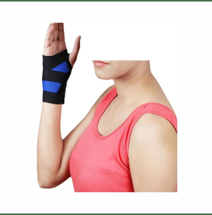 Dr. Expert Wrist Binder with Thumb Universal Black
