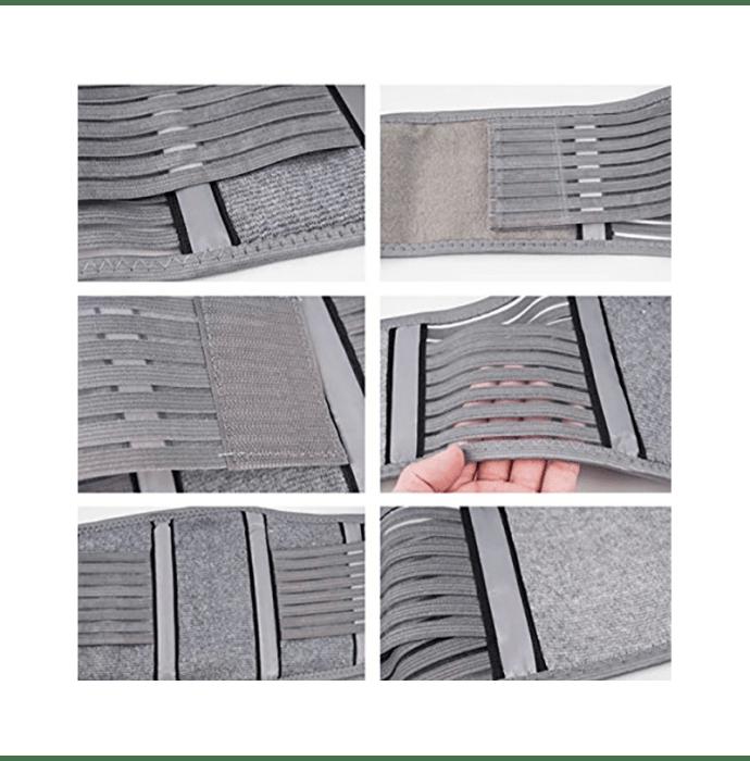 Sira Bamboo Charcoal Support Back Belt XL