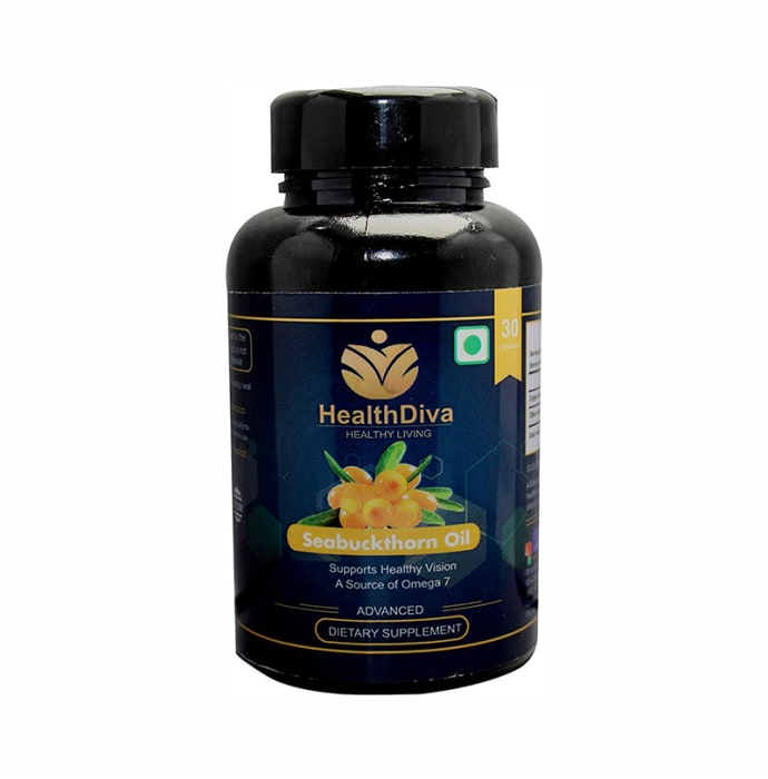 HealthDiva Seabuckthorn Oil Capsule