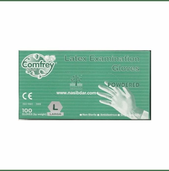Comfrey Plus Latex Examination Glove