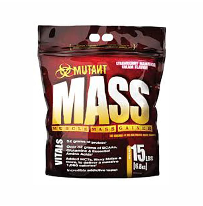 Mutant Mass Gainer Triple Chocolate