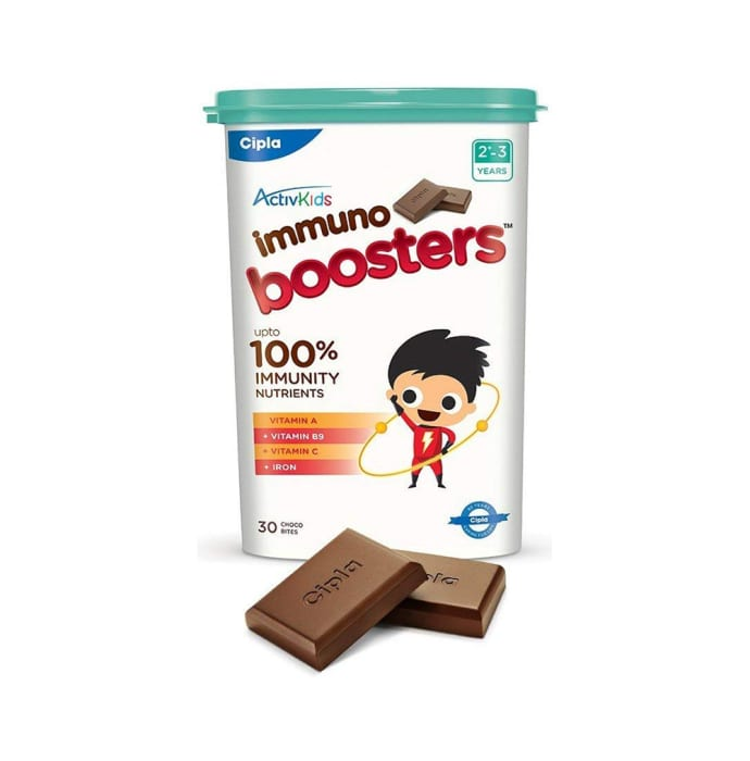 Activkids Immuno Booster Choco Bites (2-3 Yrs)