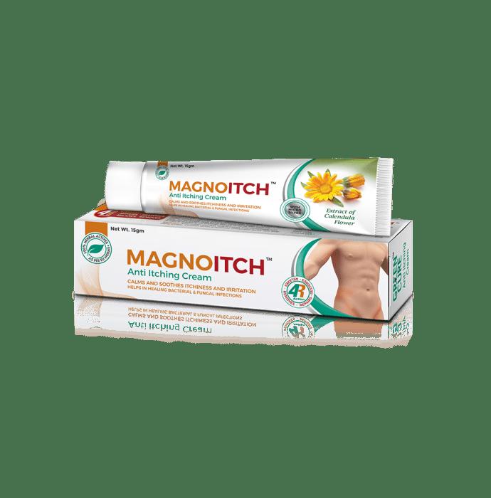 Magnoitch - Premium Ayurvedic Herbal Anti Itching Cream Pack of 2