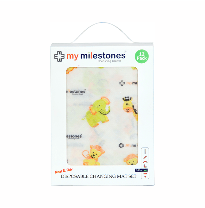 My Milestones Disposable Changing Mat Set