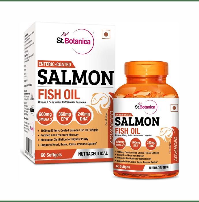 St.Botanica Salmon Fish Oil 1000mg Softgels