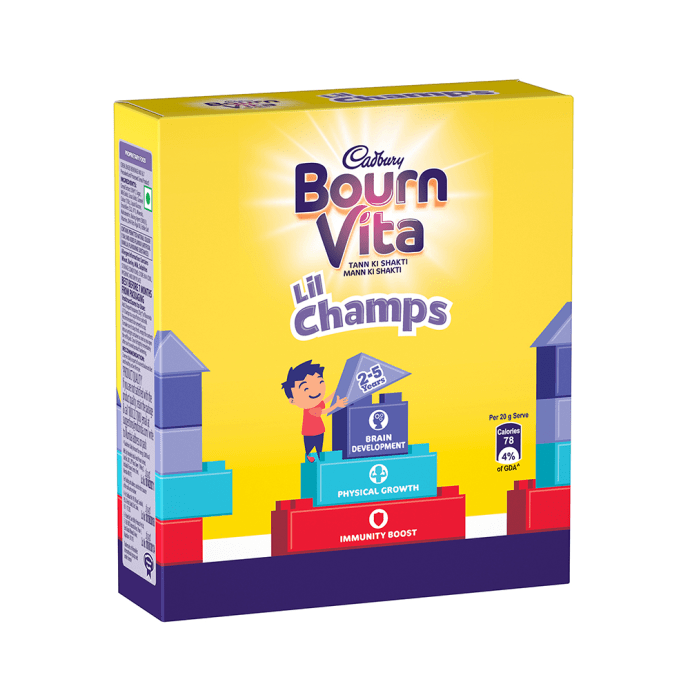 Cadbury Bournvita Lil Champs Chocolate Health Drink Chocolate