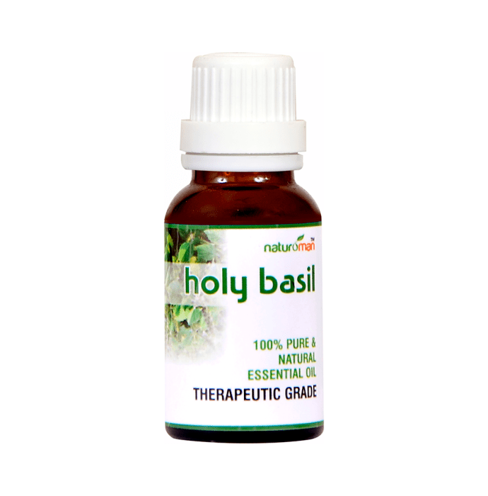 Naturoman Holy Basil Pure and Natural Essential ( Buy 1 Get 1 )
