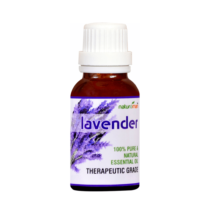 Naturoman Lavender Pure and Natural Essential Oil ( Buy 1 Get 1 )