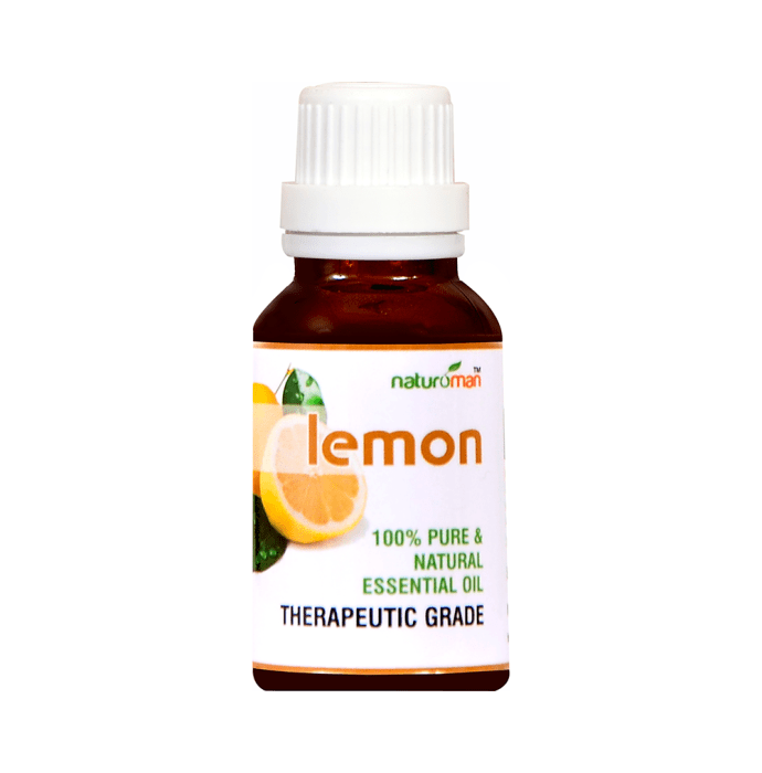 Naturoman Lemon Pure and Natural Essential Oil ( Buy 1 Get 1 )