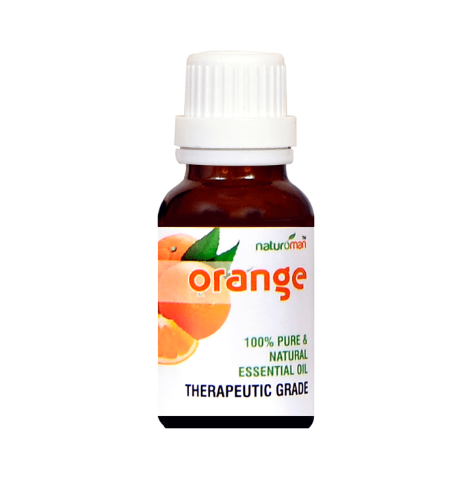 Naturoman Orange Pure and Natural Essential Oil ( Buy 1 Get 1 )
