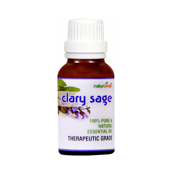 Naturoman Clary Sage Pure and Natural Essential Oil ( Buy 1 Get 1 )