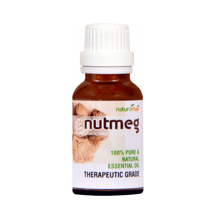 Naturoman Nutmeg Pure and Natural Essential Oil ( Buy 1 Get 1 )