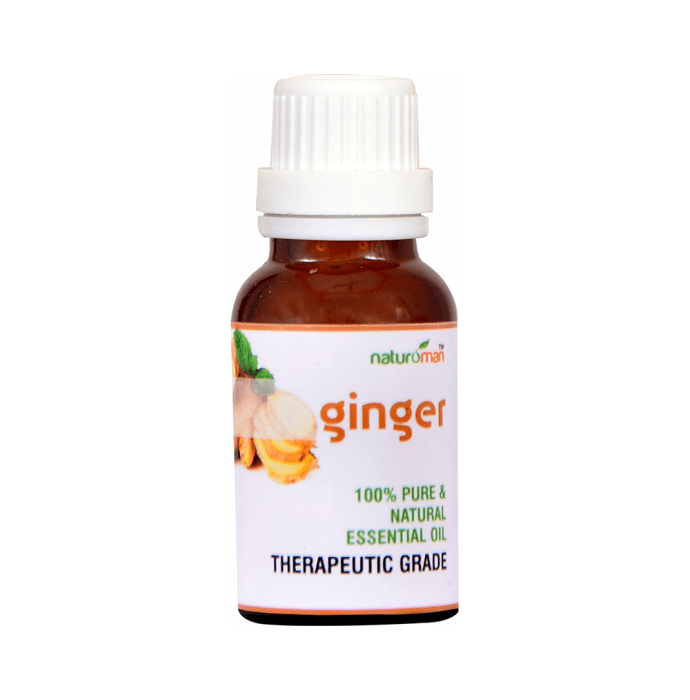 Naturoman Ginger Pure and Natural Essential Oil ( Buy 1 Get 1)