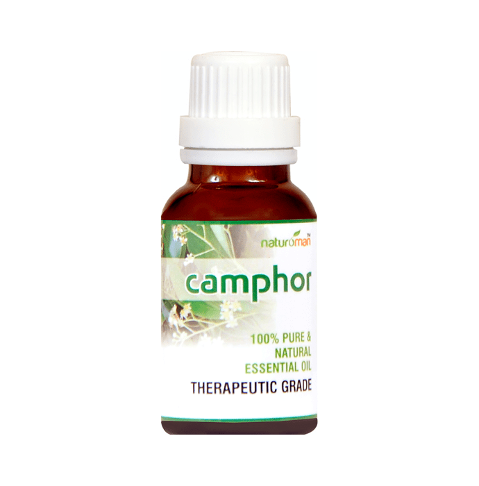 Naturoman Camphor Pure and Natural Essential Oil ( Buy 1 Get 1)